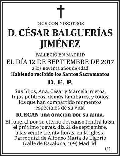 César Balguerías Jiménez